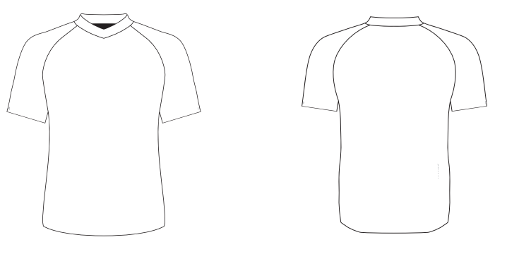 Loose Fit Jersey with Short Sleeves -Custom Design