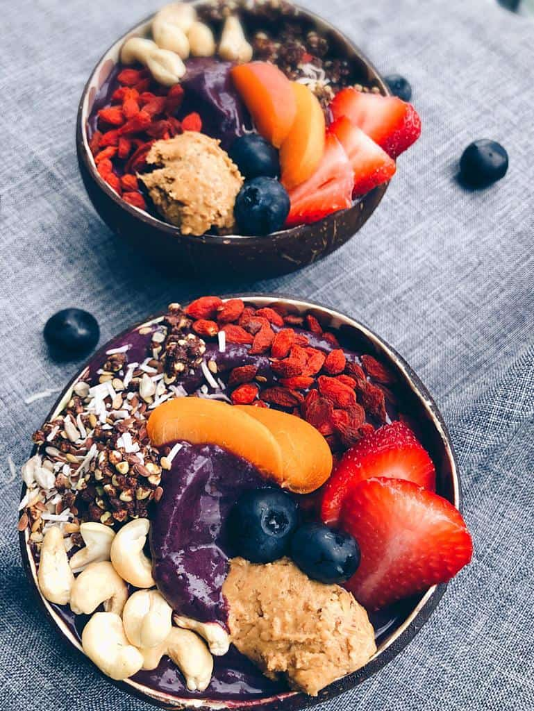 Blueberry Acai Plant Powered Bowl
