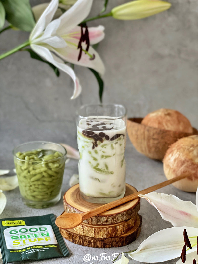 Ice Cendol (Iced Indonesian Dessert)