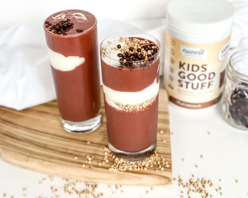RED VELVET CHOCOLATE SMOOTHIE
