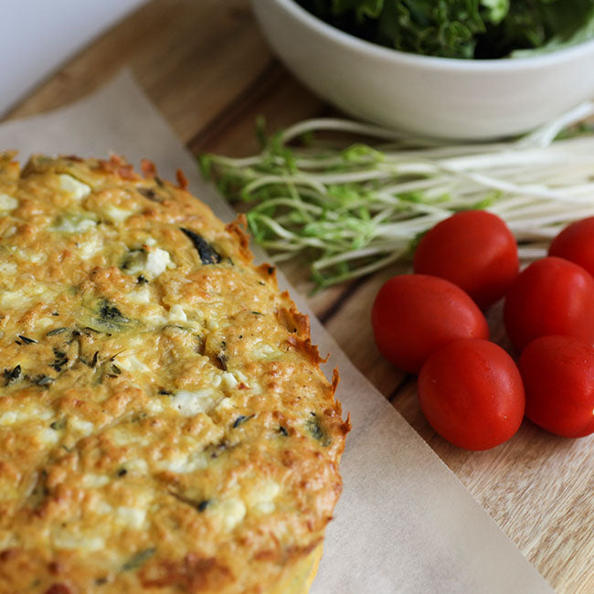 Zucchini and Sun-dried Tomato Frittata