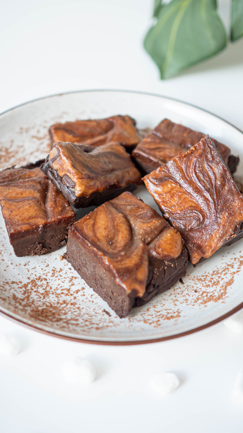 3-Ingredient Brownie with Almond Butter