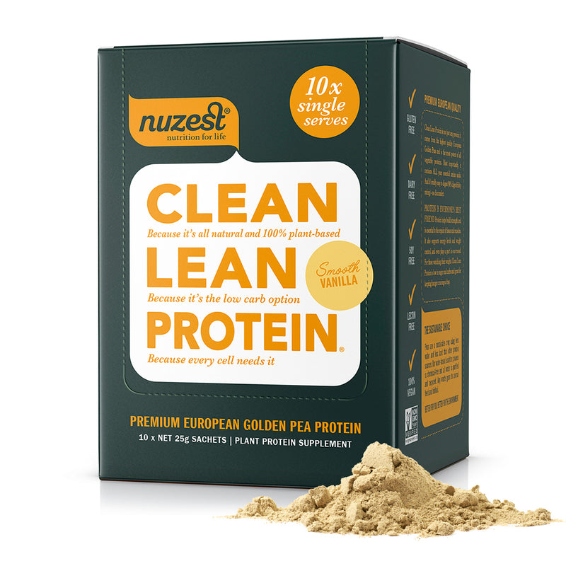 Clean Lean Protein Sachet Box