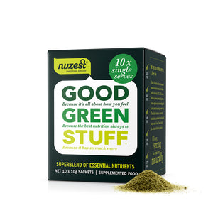 Good Green Stuff Sachet Box