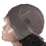 Luvs Hair Kinky Curly 13x4 Lace Front Bob Wigs Full And Attractive Short Human Hair Lace Frontal Wig For Black Women