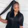 Brazilian Straight Hair 3 Bundles With 360 Lace Frontal Closure