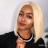 Bomb! Short 613 Honey Blonde Bob Wig Silky Straight Lace Front Wig 13x6 Frontal Brazilian Human Hair Wigs For Sale Very Pretty Popular