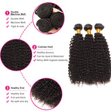 Luvs Hair Brazilian Kinky Curly Weave Virgin Jerry Curl Hair 3 Bundles African American Hairstyles
