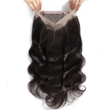 Brazilian Body Wave 360 Lace Frontal Closure