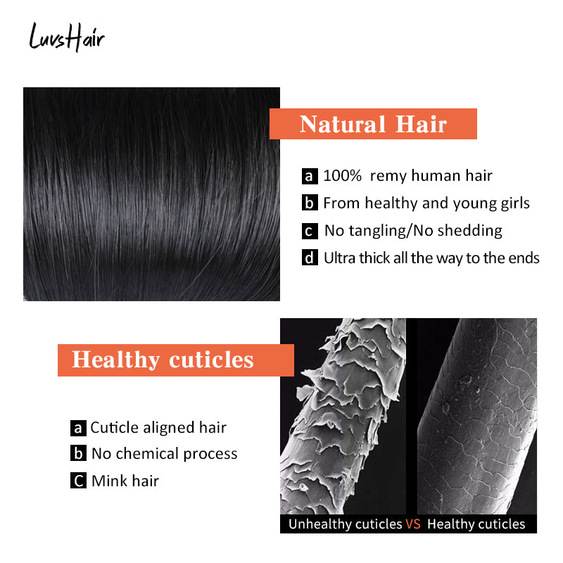 Luvs Hair Brazilian Body Wave Hair Weave One Bundle On Deal Unprocessed Human Hair Extension Free Shipping 100g 10-28 Inches