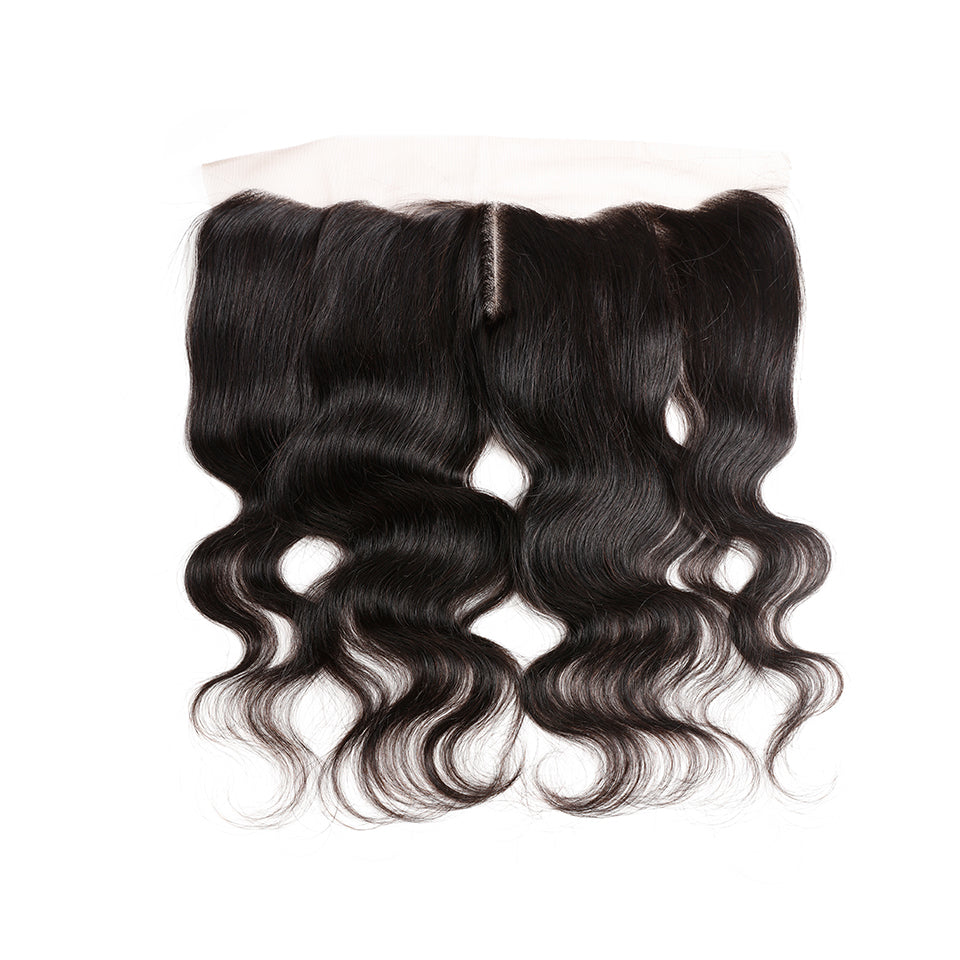 Brazilian Body Wave Hair 3 Bundles With 13x4 Lace Frontal Closure