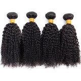 Brazilian Curly Hair 4 Bundles
