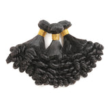 Brazilian Funmi Hair Weave 3 Pcs/Lot Virgin Remy Bouncy Hair Weft Without Any Split