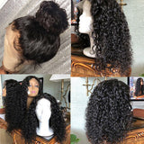 Latest Fabulous Charming Luvs Hair Curly Fake Scalp Wig Natural Edges Undetectable Glueless 13x6 Lace Frontal Wigs