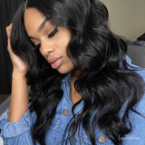 Luvs Hair 13x4/13x6 Body Wave Lace Front Human Hair Wigs Pre Plucked With Baby Hair, Brazilian Wavy Wig