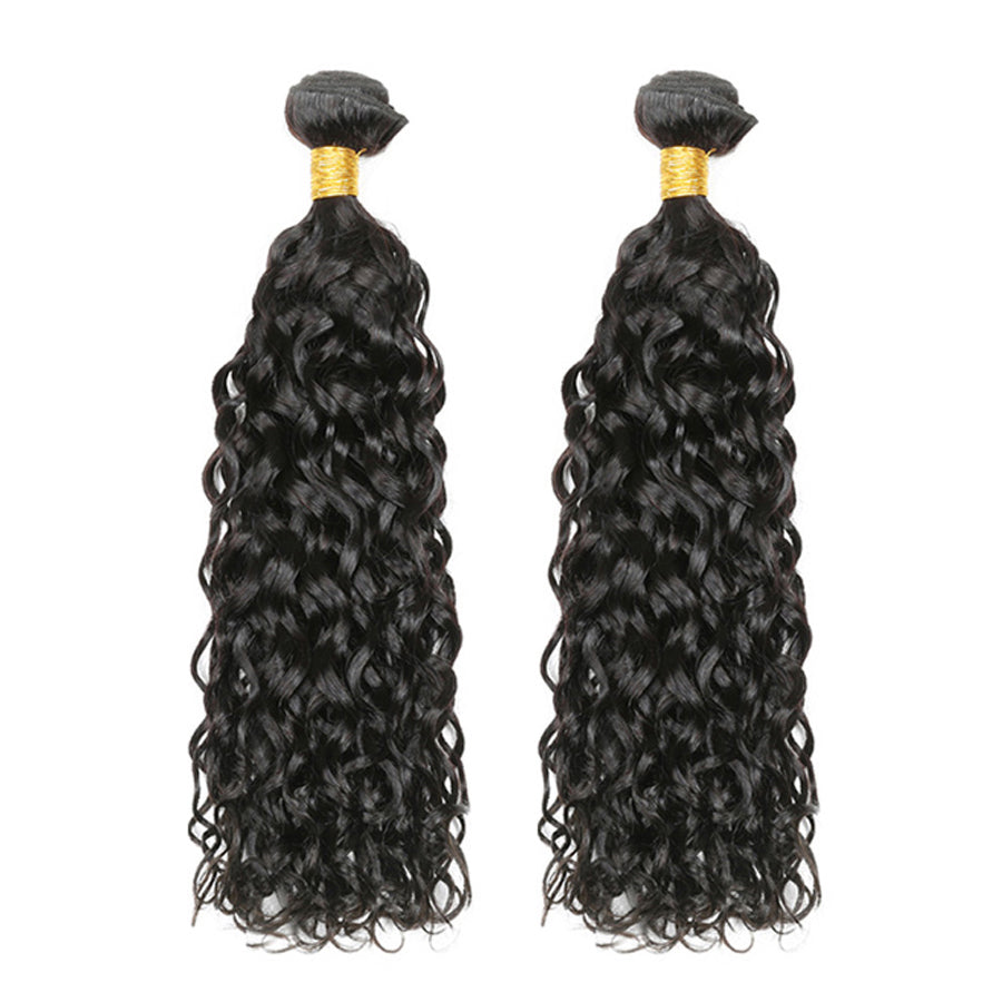 Luvs Hair Virgin Brazilian Wet And Wavy Hair 2 Bundles Lovely Human Hair Water Weaves For Cheap