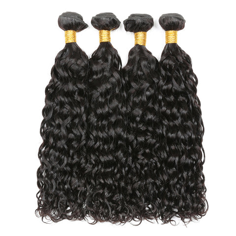 Virgin 1 Bundle Brazilian Wet And Wavy Human Hair Weave On Sale At Affordable Price Online Submissive And Shine