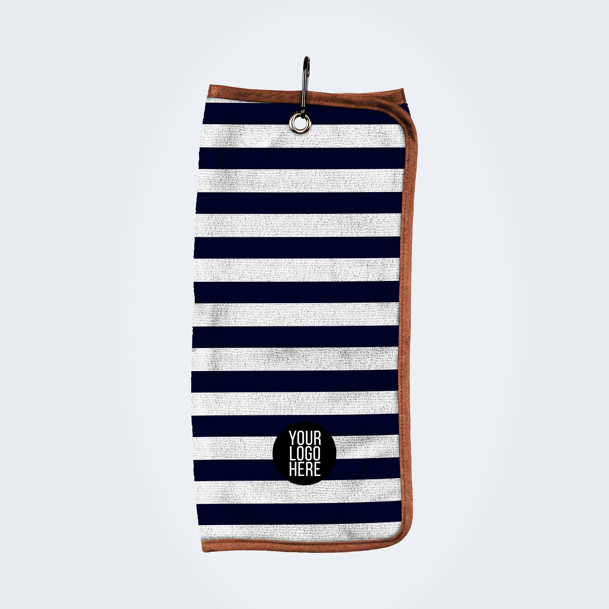 Custom Striped Towel - personalised golf clothing, golf teamwear, Head Covers, Towels & accessories online