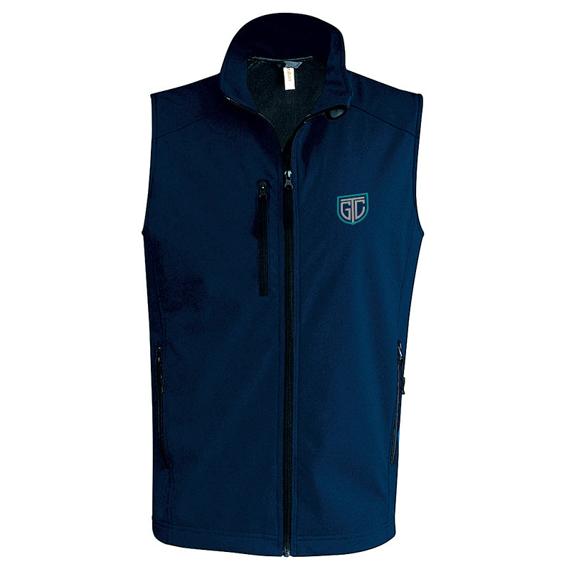 GTC Softshell Bodywarmer - personalised golf clothing, golf teamwear, Head Covers, Towels & accessories online