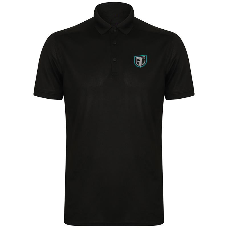 GTC Stretch Polo Shirt With Wicking Finish - personalised golf clothing, golf teamwear, Head Covers, Towels & accessories online