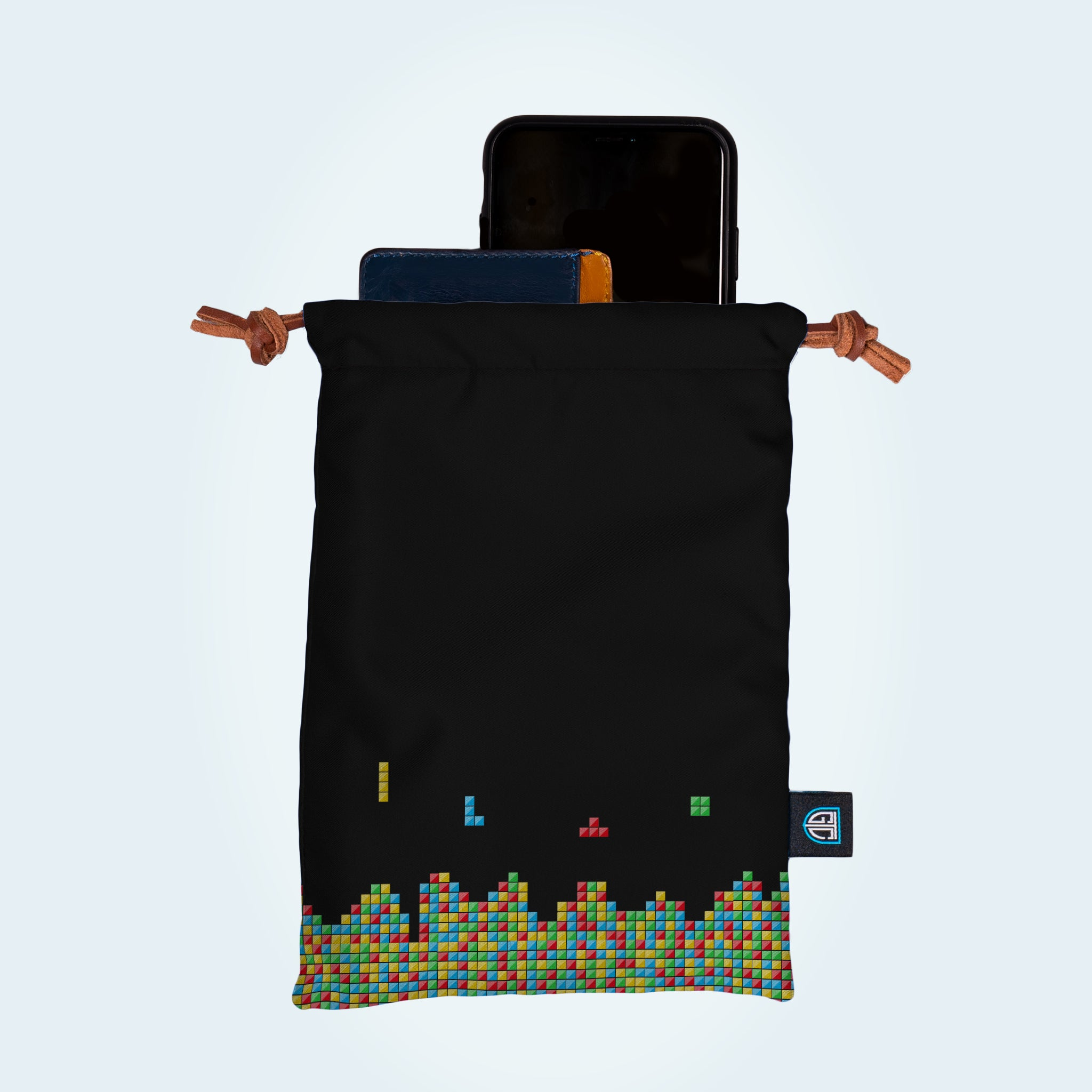 Tetris Accessory Bag - personalised golf clothing, golf teamwear, Head Covers, Towels & accessories online