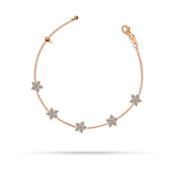 Bloom Round Diamond Bracelet