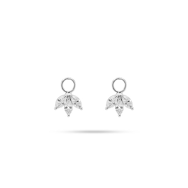 DETACHABLE TRIO MARQUISE DIAMOND Only DROPS