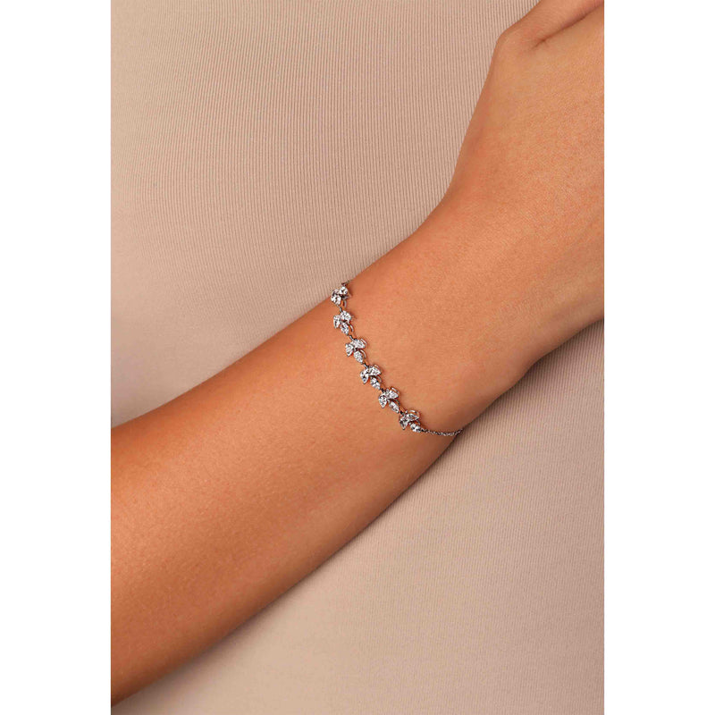 Solitaire Pear Shape Bracelet