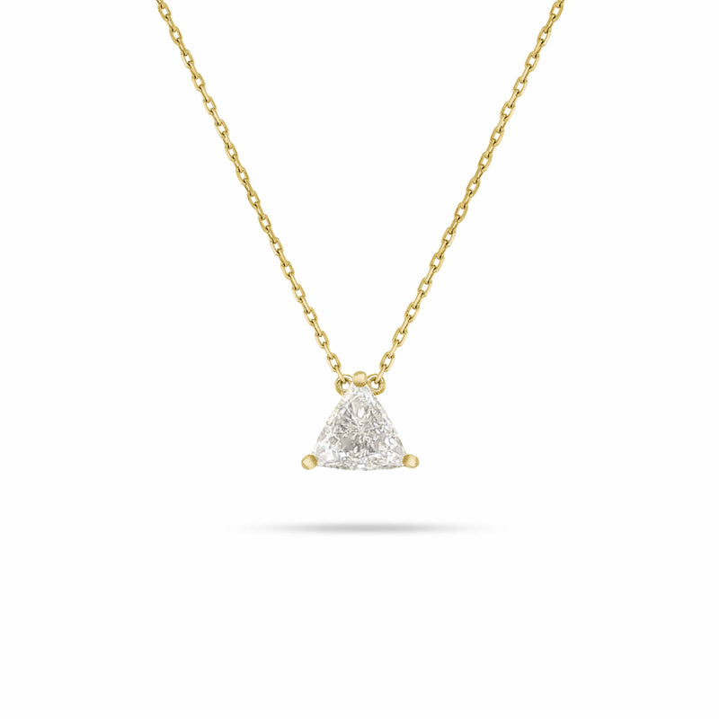 SOLITAIRE TRILLIANT DIAMOND PENDANT