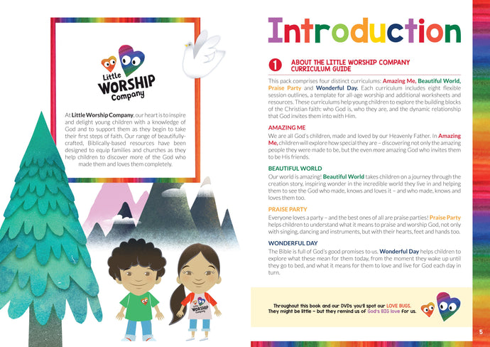Little Worship Company Complete Series 1 Bible Curriculum