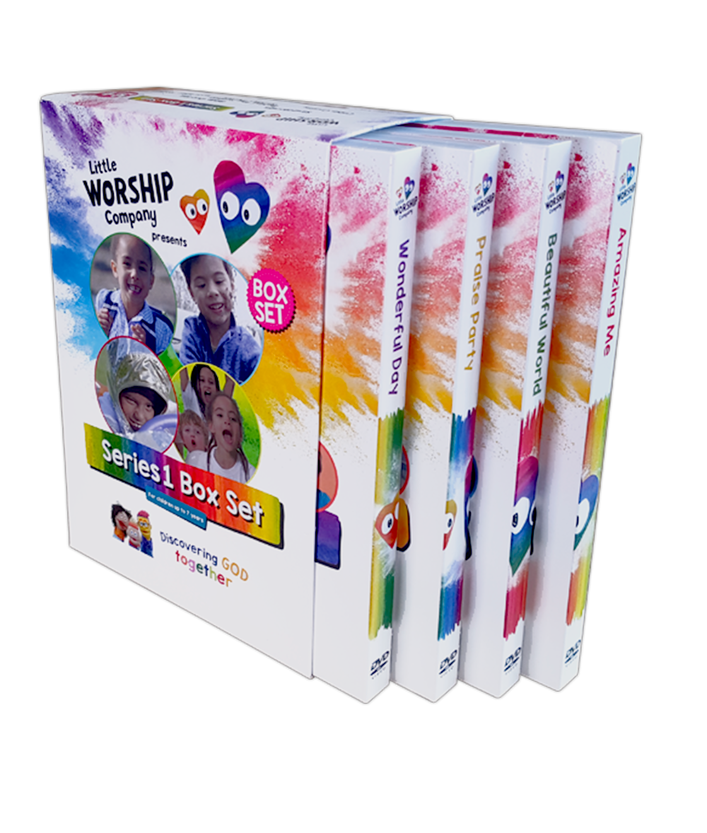 Little Worship Company DVDs - Complete Series One Box Set