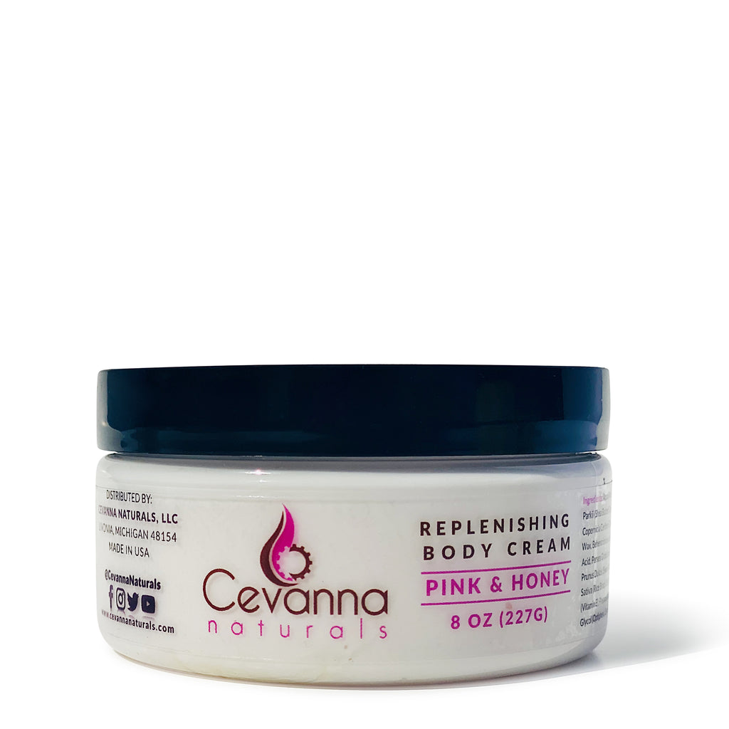 Replenishing Body Cream for Dry Sensitive Skin (Pink & Honey)