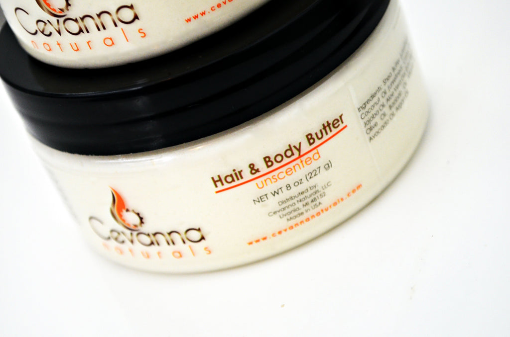Unscented Hair & Body Butter