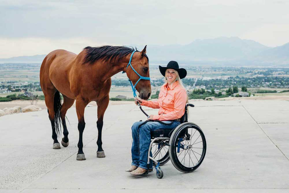 """Walk. Ride. Rodeo."" - Amberley Snyder"