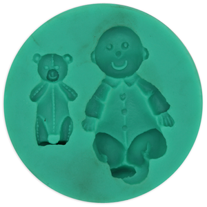 Baby & Bear Silicone Mold - bakeware bake house kitchenware bakers supplies baking