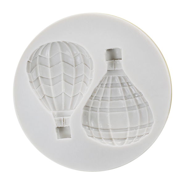 3D Hot Air Balloon Silicone Fondant Mold - bakeware bake house kitchenware bakers supplies baking