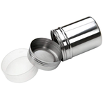 Stainless Steel Shaker for Icing Sugar & Flour Large - bakeware bake house kitchenware bakers supplies baking