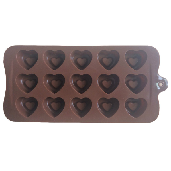 chocolate mold heart - bakeware bake house kitchenware bakers supplies baking