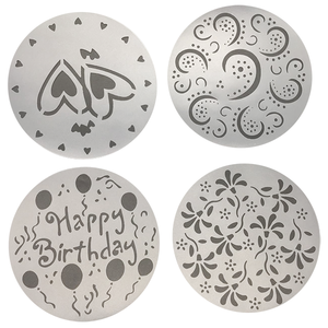 Cake Stencils 4 Designs - bakeware bake house kitchenware bakers supplies baking