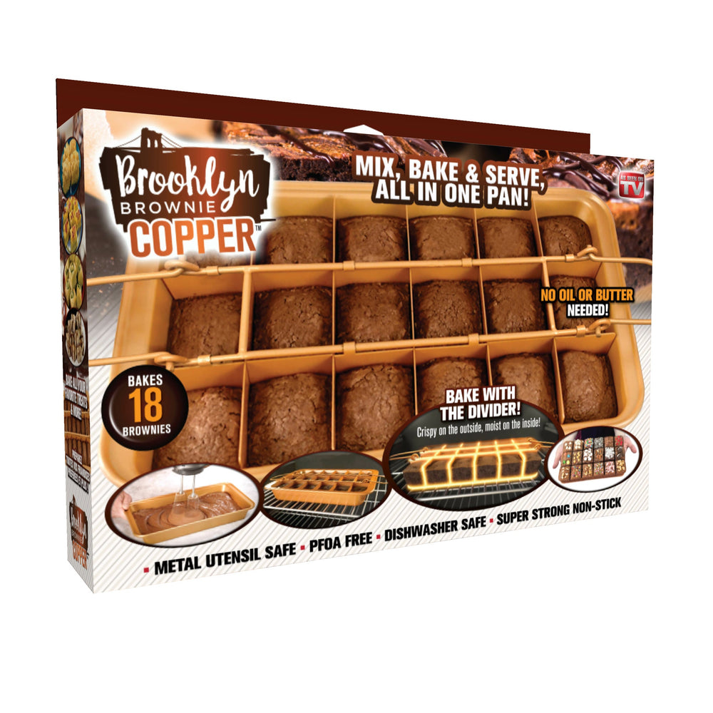 Perfect Brooklyn Brownie Pan Set - bakeware bake house kitchenware bakers supplies baking