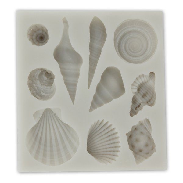 Sea Shell Shape Silicone Mold - bakeware bake house kitchenware bakers supplies baking