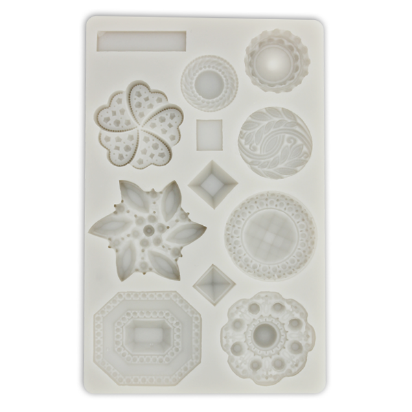 Silicone Fondant Mold Multi Shapes - bakeware bake house kitchenware bakers supplies baking
