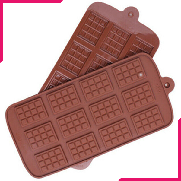 Silicone Chocolate Bar Mold - bakeware bake house kitchenware bakers supplies baking