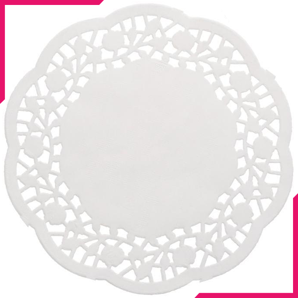 "Doilies Baking Paper Mat 5.5"" 14cm - bakeware bake house kitchenware bakers supplies baking"