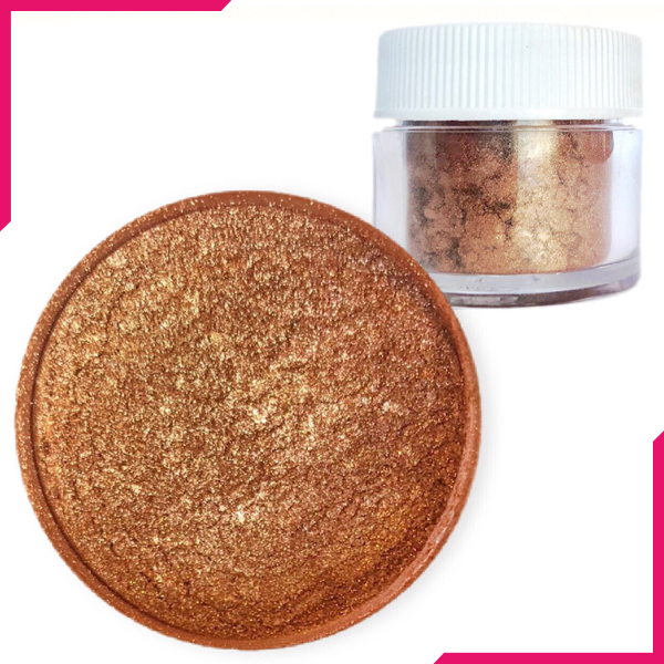 Shimmer Dust Bronze Color - bakeware bake house kitchenware bakers supplies baking