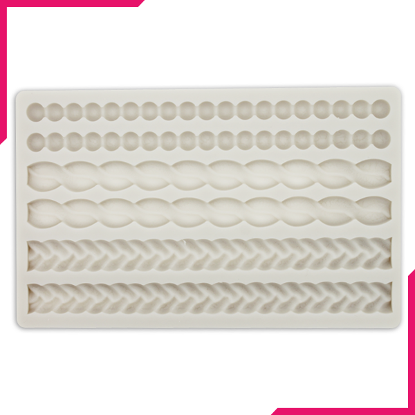 Lace Border Silicone Mold - bakeware bake house kitchenware bakers supplies baking
