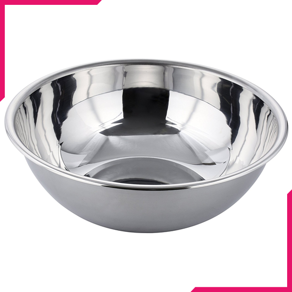 "Stainless Steel Mixing Bowl 10"" - bakeware bake house kitchenware bakers supplies baking"