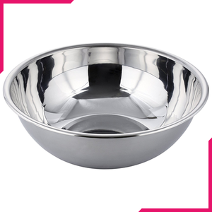"Stainless Steel Mixing Bowl 11"" - bakeware bake house kitchenware bakers supplies baking"
