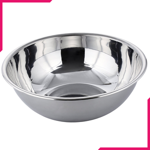 "Stainless Steel Mixing Bowl 12"" - bakeware bake house kitchenware bakers supplies baking"