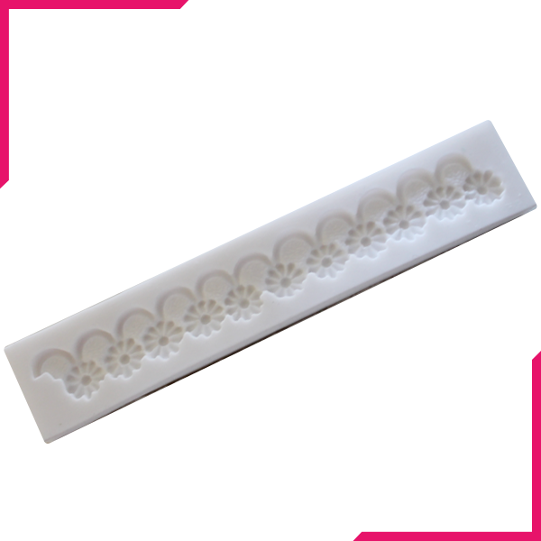 Silicone Fondant Flower Lace Mold - bakeware bake house kitchenware bakers supplies baking